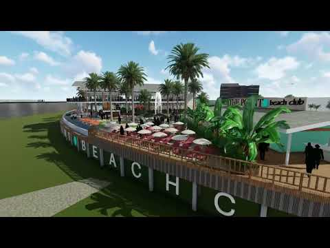 See the latest rendering for the proposed beach club in Algiers Point