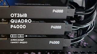 Отзыв об эксплуатации Quadro P4000 | Профессиональная видеокарта nVidia Quadro P4000