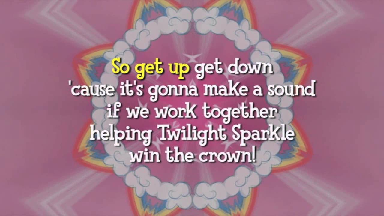 Equestria Girls Cafeteria Song Helping Twilight Sparkle Win The Crown Dvd Rip Youtube