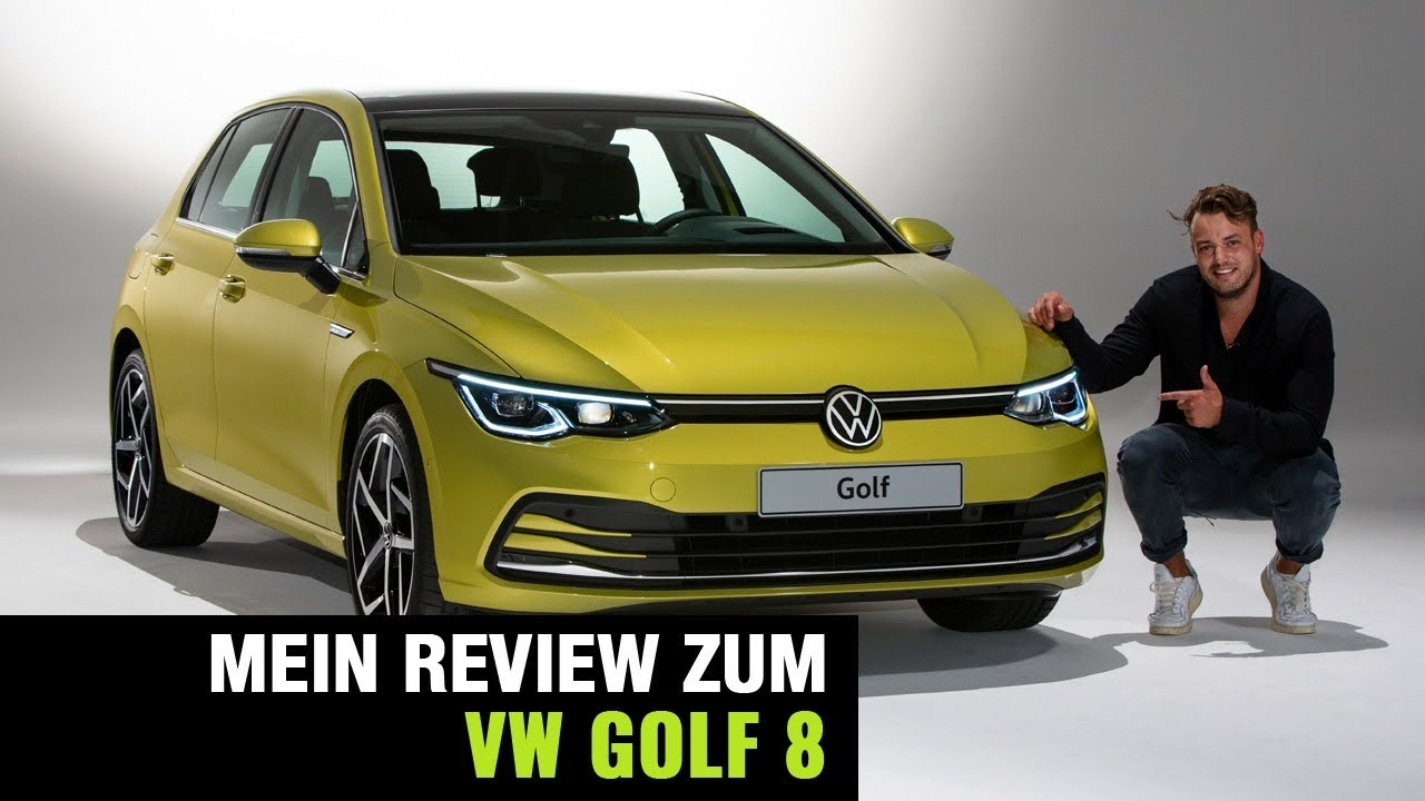 2020 vw golf 8 vorstellung full review exterieur interieur motoren details