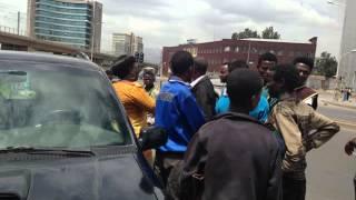 Ethiopian Man injured by Nigerian Diplomat car, then what happened?