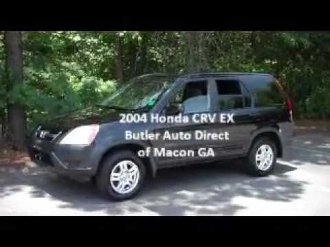 2004 honda crv ex 4wd butler auto direct macon warner for Honda macon ga