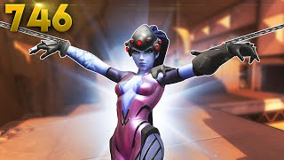 WIDOW HAS 2 HOOKS NOW!!   Overwatch Daily Moments Ep.746 (Funny and Random Moments)