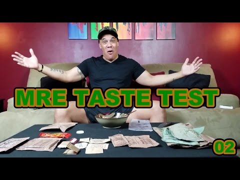 MRE TASTE TEST - Chicken with Tomato and Feta Cheese