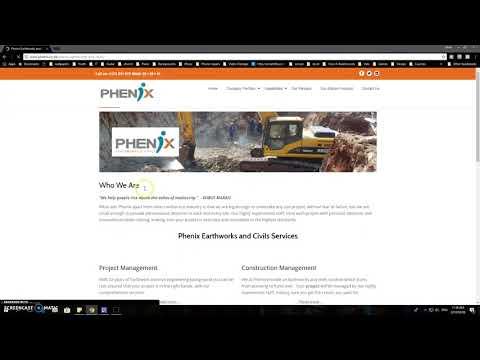 Website Portfolio - Phenix Construction