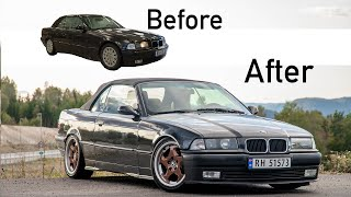 Building a E36 325i in 10 minutes!