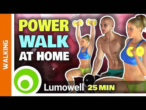 20 Minute Full Body Toning Walking Workout
