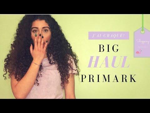 Haul #1: J'ai dévalisé Primark ! (Médiacité et Rive Gauche)