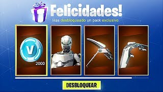 COMMENT À UNLOCK THE FREE SKINS EON PACK à Fortnite! (Fortnite Battle Royale Skins Gratuit)
