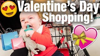 Shopping for Valentine's Day!