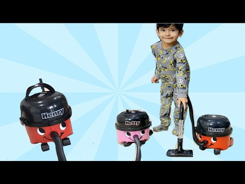 Henry Vacuum Cleaner Videos! Vacuum Boy Still Loves His Henry And Hetty!