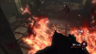 black ops 2 glitches on top of hellhound under roof stairs on mob of the dead