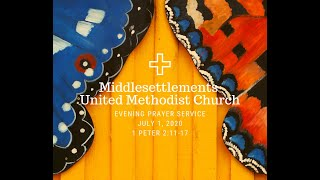 MUMC Evening Prayer Service