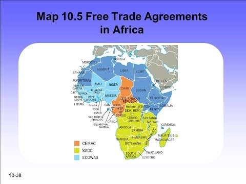 44 African countries sign African Continental Free Trade Area