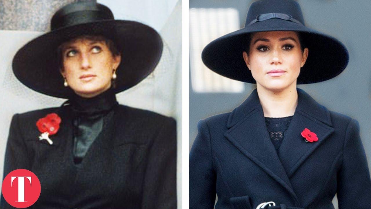 Every Time Meghan Markle Tried To Be Princess Diana