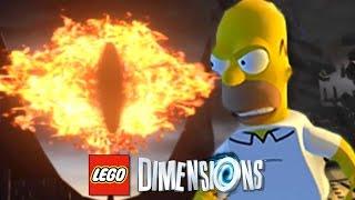 LEGO DIMENSIONS BR #13 : Homer Simpson Senhor dos Aneis !? (PS4 PRO Gameplay PT-BR Português)