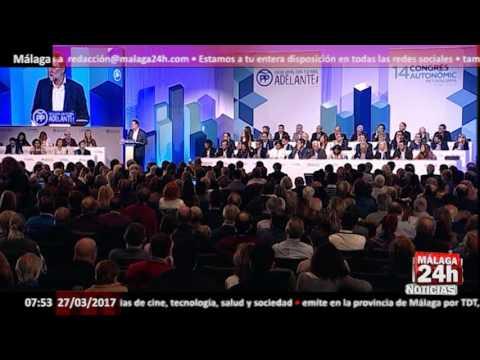 "Rajoy ofrece dialogar de todo menos del referéndum: ""Nunca lo vamos a admitir"" - Málaga 24h TV -"