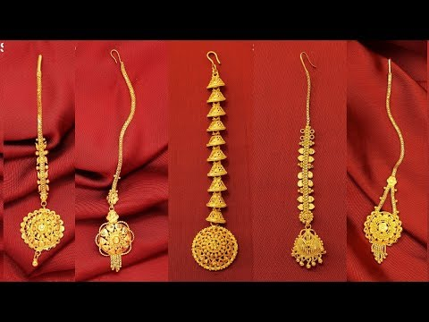 Light Weight Exclusive Gold Mang Tikka Designs