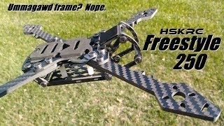 HSKRC Freestyle 250 (Ummagawd Clone) Frame Review from Banggood