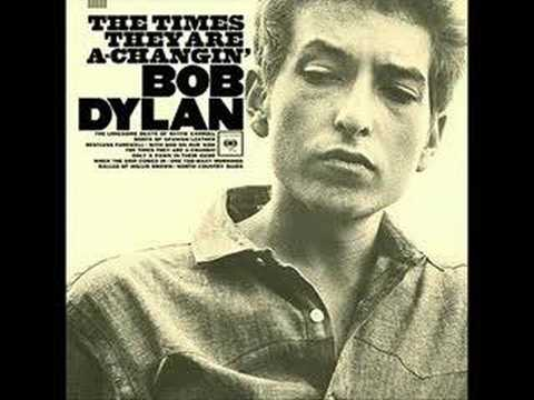 The Times They Are A-Changin - A Bob Dylan Song - My cover ...