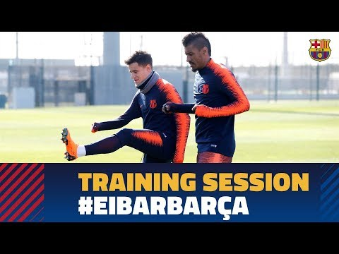 Barça's attention trained squarely on Eibar
