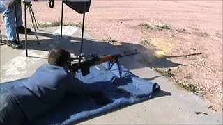 The PSL Romanian Military Marksman Rifle, Attempts At 1,500 Yards On 17-inch Target.