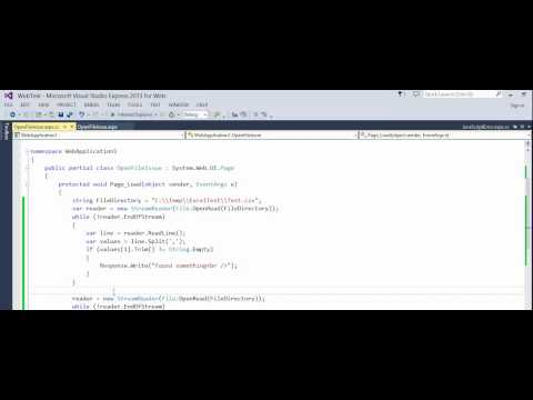 C# - ASP NET - How to fix error -  The process cannot access the file because it is being used