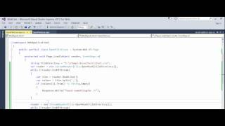 c asp net how to fix error the process cannot access the file because it is being used