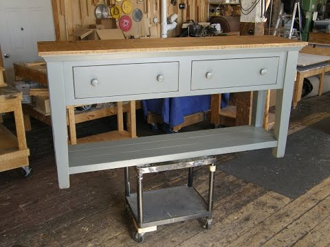 Console Table Part 3: Making Drawers