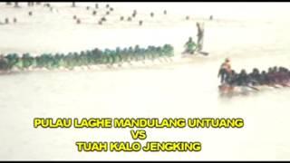Tuah Kalajengking Muda Indragiri Vs Pulau Laghe mandulang Untung
