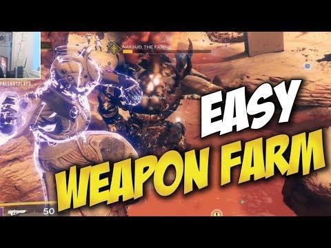 Destiny 2: Escalation Protocol EASY Level 7 Weapon Farm (REPEATED Farm Method)