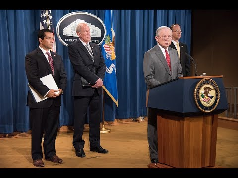 Attorney General Sessions, Director of National Intelligence Coats Hold a Briefing