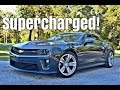 2013 Chevrolet Camaro Zl1 Driving Review