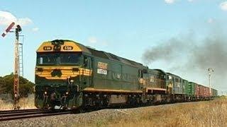Freight Trains on the Bendigo Line: Australian Trains