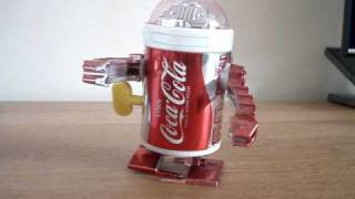 Coca Cola Wind Up Robot