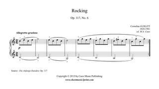 Gurlitt : Rocking, Op. 117, No. 6