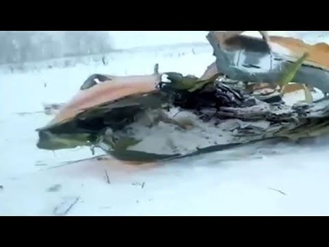 71 dead, no survivors in Russian passenger plane crash