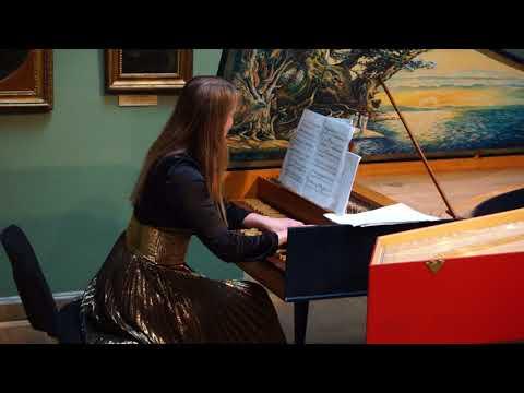 Elena Zhukova Plays Scarlatti Sonatas K.43, K.213, K.141 In Khanenko Museum