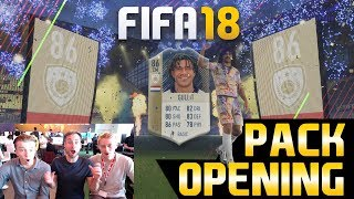 Gullit in a pack! fifa 18 pack opening - 500k fifa points | mehrere 90+ spieler!