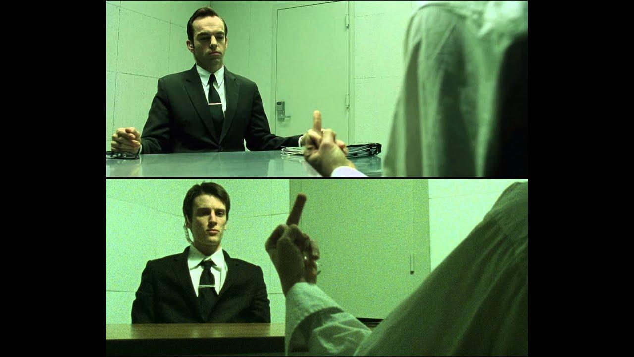 the matrix interrogation scene recreation youtube. Black Bedroom Furniture Sets. Home Design Ideas