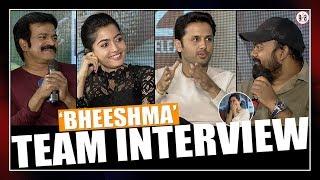 రష్మికని దారుణంగా ఆడేసుకున్నారు.. Bheeshma Team Interview | Nithin, Rashmika Mandanna | Greatandhra