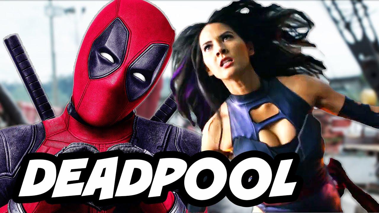 Deadpool Kills The X Men Sequel and Movie Easter Eggs