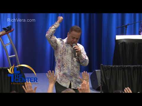 Benny Hinn Passes the Mantle to Rich Vera for the City and Miracle Revival.. The Center