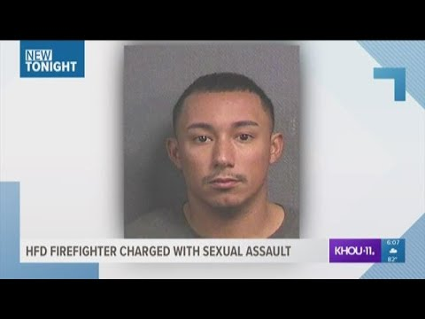 Firefighter charged with sexual