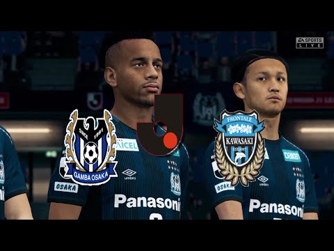 Fifa 20 Japan J League Gamba Osaka Vs Kawasaki Frontale Panasonic Stadium Suita Round 7 Youtube