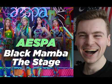 UNCHEKED POWER (aespa 에스파 'Black Mamba' The Debut Stage Reaction)