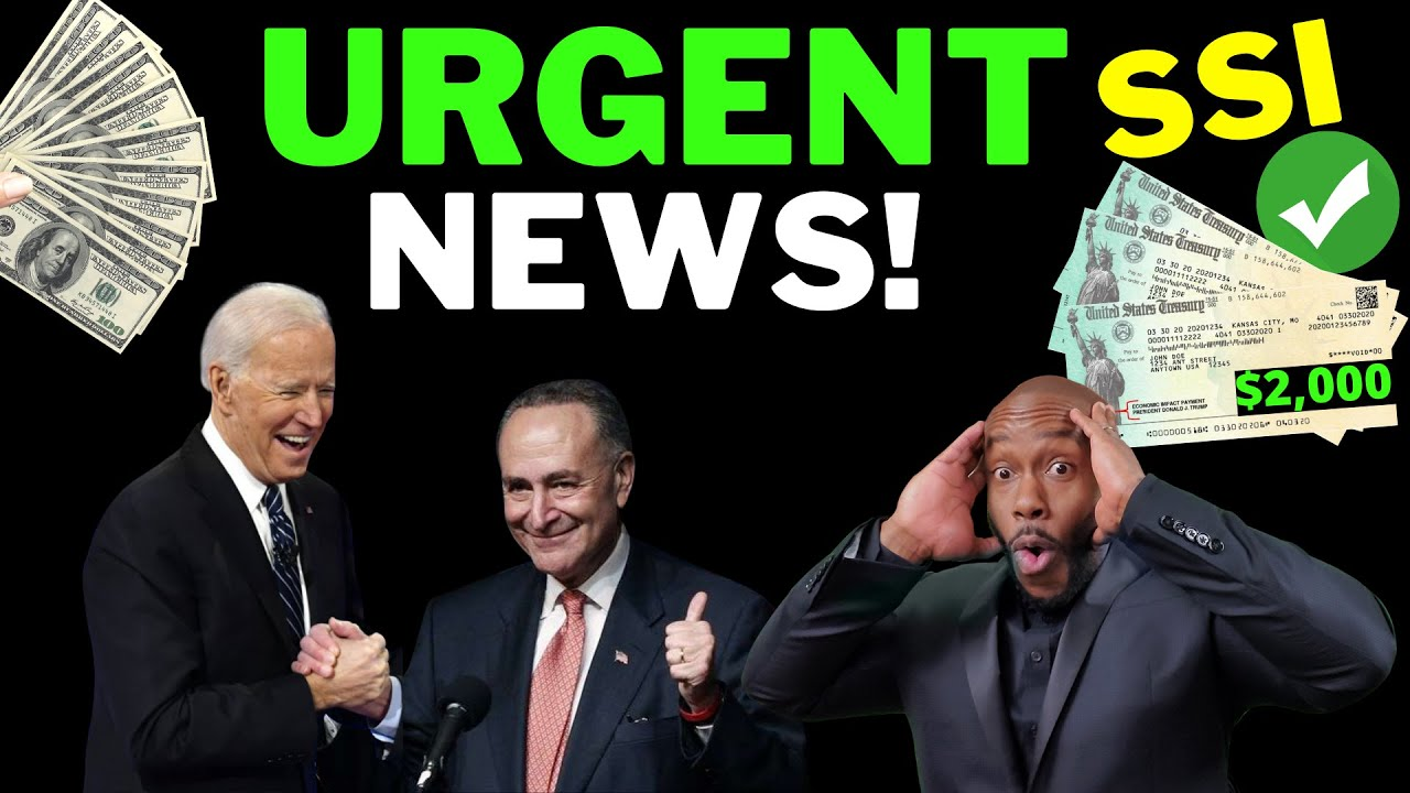 BIDEN DID IT!! $1400 Third Stimulus Check Update + $200 SSI SSDI VA Railroad Benefits + Baby Bonds