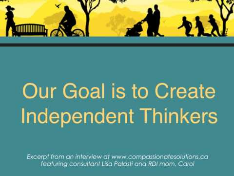 Our Goal is to Create Independent thinkers