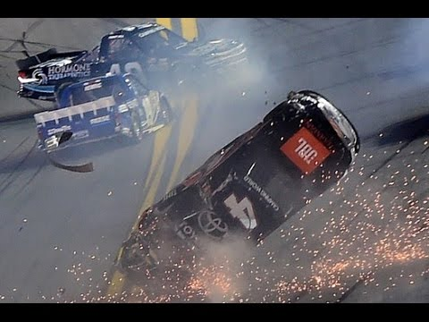 2016 Nextera Energy 250 Finish - Christopher Bell Huge Flip
