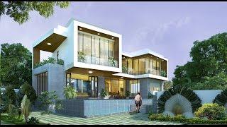 Chiêm ngưỡng vẽ đẹp của thiết kế biệt thự vườn kiến trúc nội thất sang trọng